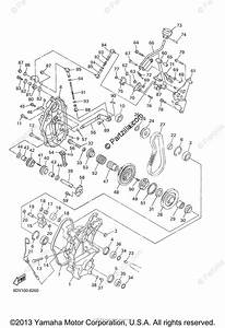 Yamaha Snowmobile 2001 Oem Parts Diagram For Track Drive 2