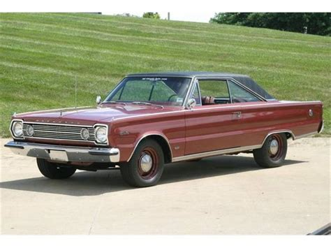 1966 Plymouth Satellite - Information and photos - MOMENTcar