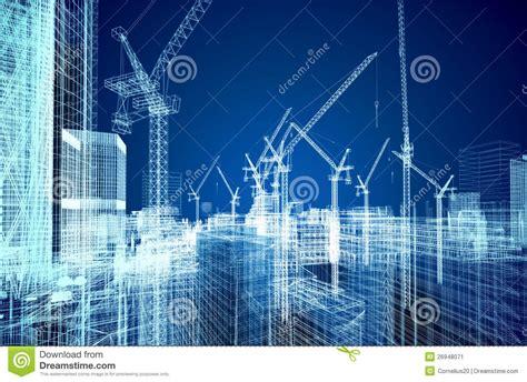 modern house floor plans free construction site blueprint stock image image 26948071