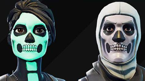 skull trooper skin  finally   fortnite
