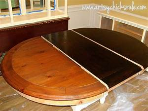 China cabinet and dining table re new artsy chicks ruler for Best brand of paint for kitchen cabinets with papiers scrap