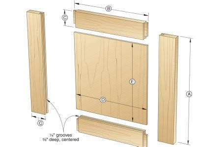 wood panel dimensions simple frame and panel doors in 30 minutes wood magazine