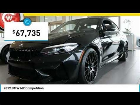 2019 bmw m2 2019 bmw m2 competition for sale in san luis obispo ca b19137 youtube