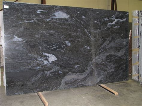 splash blue granite