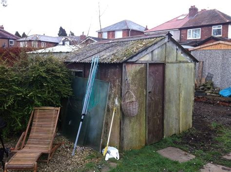 removal  asbestos shed  clearance  site