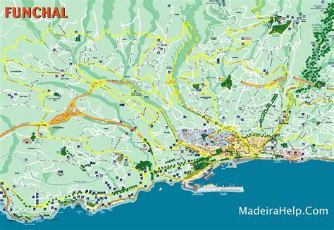 funchal haritasi