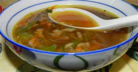 recette bouillon asiatique aux legumes croquants