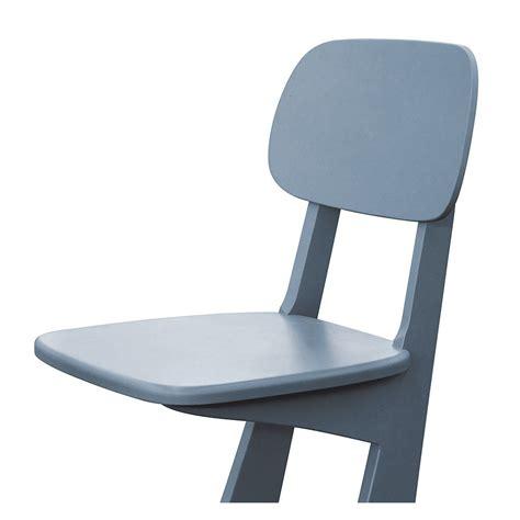 patin de chaise chaise à patins gris souris laurette design enfant