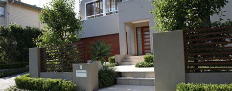 contemporary front garden design landscape designer sydney garden designs impressions landscape fence ideas pinterest