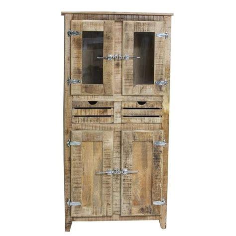 porte de chambre en bois pas cher armoire 2 portes frigo bois naturel achat vente armoire