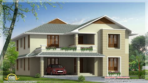 Elevation For Houses Double Floor Designs Modern House