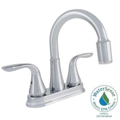 Glacier Bay Bathroom Faucet Aerator by Glacier Bay 4 In Centerset 2 Handle Bathroom Faucet In