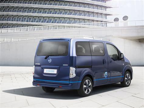 Nissan Showcases Ev For Vips Transformed E Nv200