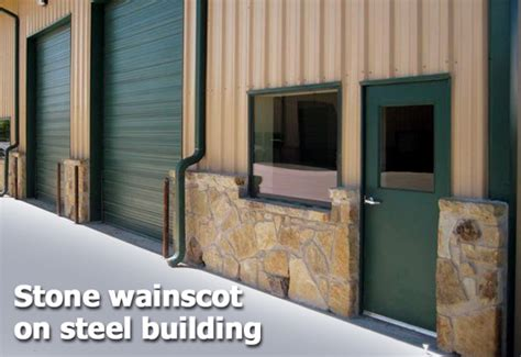 Building Wainscoting Panels by Steel Buildings Think Outside The Box Part 3 Metal