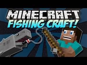 Minecraft | FISHING CRAFT! | Mod Showcase [1.4.7] - YouTube