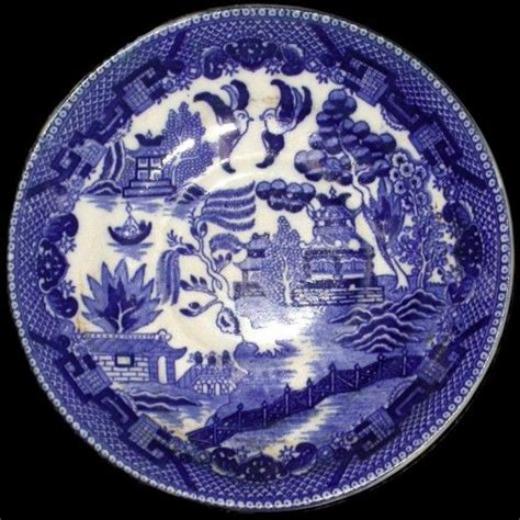 blue willow china the blue willow china pattern