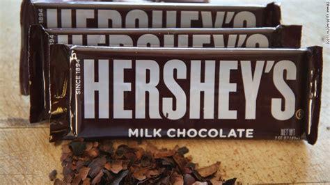 hershey stock crashes   chocolate merger talks