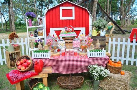 Kara's Party Ideas Farm Barn Birthday Party Archives