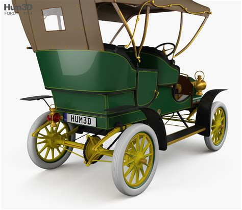 Ford Model F by Ford Model F Touring 1905 3d Model Vehicles On Hum3d