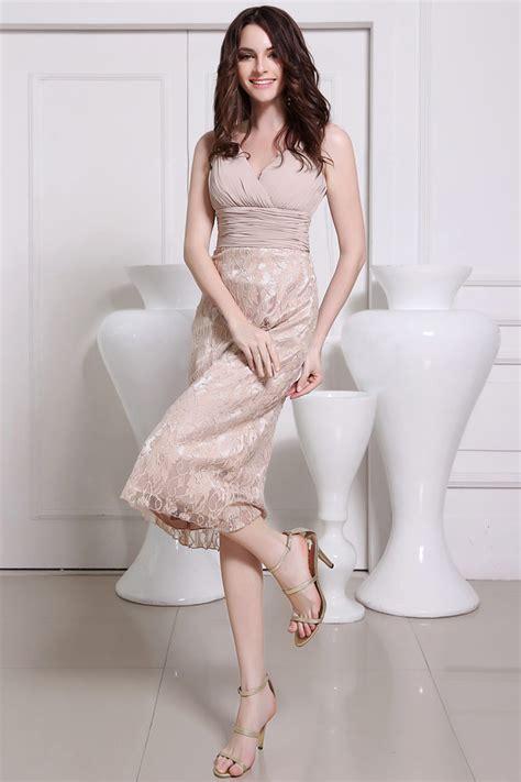 robe de soirée mi longue pour mariage robe de soir 233 e de mariage mi longue 224 jupe en dentelle