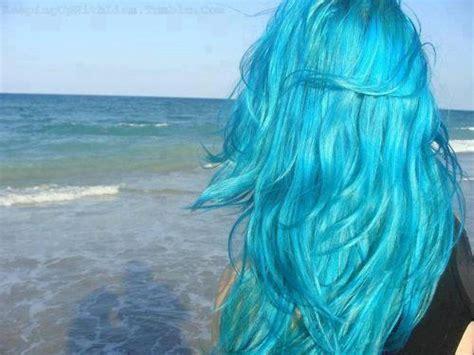 Lake Blue Turquoise Mermaid Hair Chalk