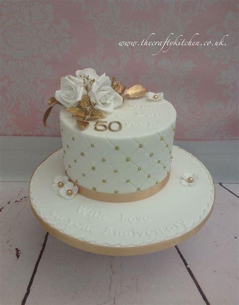 golden wedding anniversary cake  anniversary cakes