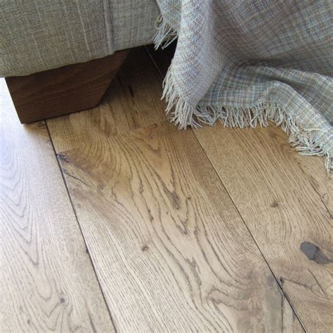 rustic french oak flooring finished  cognac osmo oil