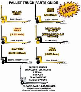 Parts For Lift-rite U00ae Pallet Trucks