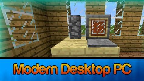 minecraft   modern desktop computer decoration youtube
