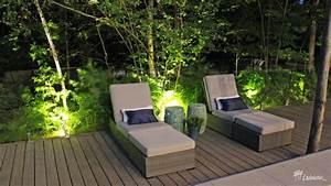 Contemporain innovations paysagees ladouceur drummondville for Eclairage bord de piscine