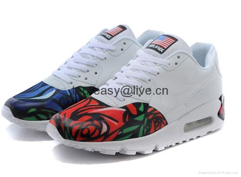nike air max lover sport running shoes flower for