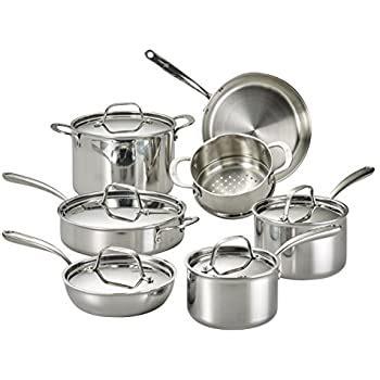 lagostina  ply copper clad cookset  pc amazonca home kitchen