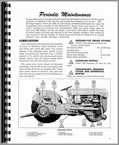 Massey Ferguson 35 Parts Diagram