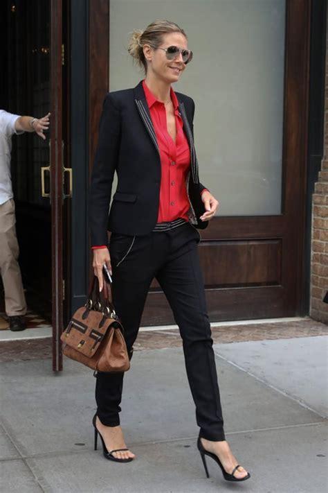 Heidi Klum Steps Out Nyc Tom Lorenzo