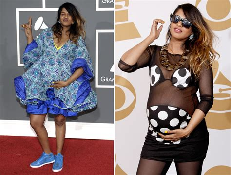 WORST EVER GRAMMY FASHION DISASTERS §§ M.I.A. The heavily ...