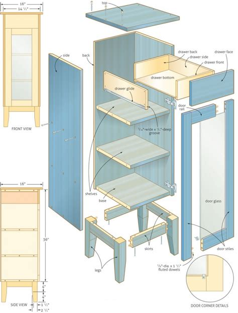 bathroom cabinet woodworking plans woodshop plans