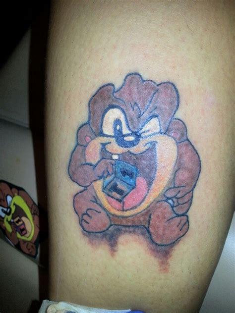 cute baby taz tattoos  designs