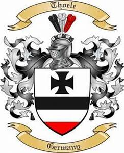 Thoele Family Crest from Germany by The Tree Maker
