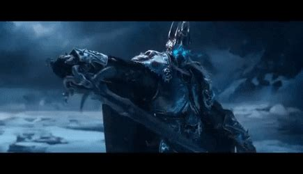 lich king gifs find on world of warcraft wrath of the lich king cinematic