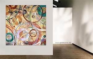 Abstrakte Kunst Kaufen : inner circles original acryl l bild mit spachtelstrukturen auf leinwand 140 140 cm 990 ~ Watch28wear.com Haus und Dekorationen