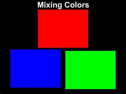 Colors Mixing Primary Mix Yellow Magenta