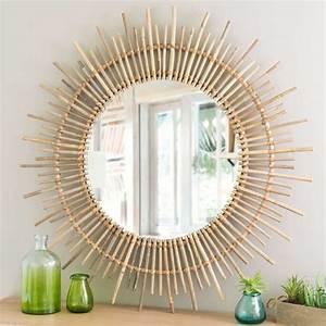Petit Miroir Rotin : miroir maisons du monde 28 mod les de miroirs pour votre int rieur ctendance ~ Melissatoandfro.com Idées de Décoration