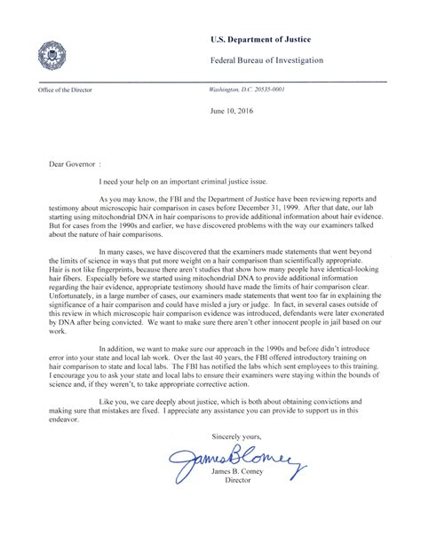 fbi gov file repository cover letter director comey letter to additional governors on state