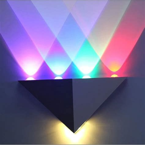 multi color 5w led wall sconce light up indoor wall l lighting bathroomled light