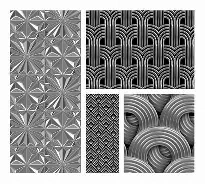 Deco Patterns 3d Photoshop Cart