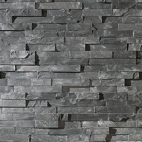 Wand Aus Stein by Wandverkleidung Pietra 15 X 60 Cm Anthrazit Rustikal