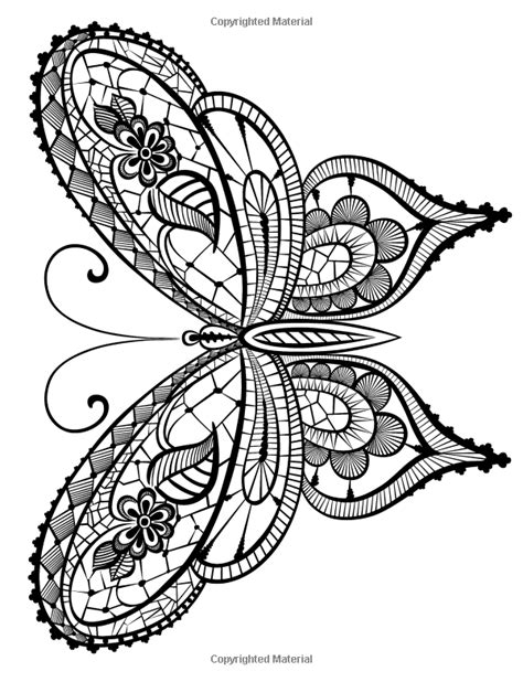 Adult Coloring Book: Butterflies and Flowers : Stress Relieving Patterns (Volume 7): Cherina