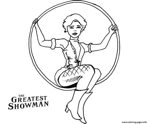 greatest showman anne wheeler drawing coloring pages