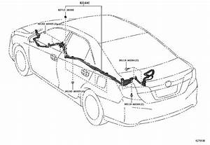 2014 Toyota Camry Connector  Wiring Harness  Engine  Seat  Door - 8282430220