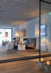 la deco avec pierre apparente With idee amenagement exterieur maison 12 brique de parement comme deco interieure idees
